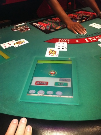 Are electronic roulette tables rigged