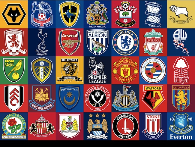 EPL Football Logos