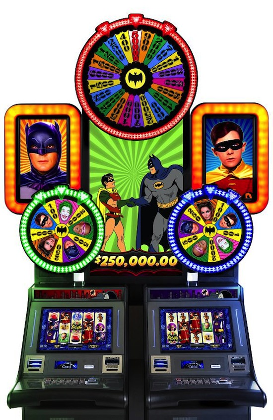 Batman Wonder Wheels Slot Machine