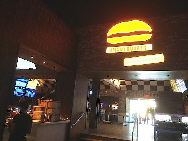 Umami Burger Entrance At SLS Las Vegas