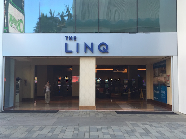 The Linq Hotel Las Vegas Entrance