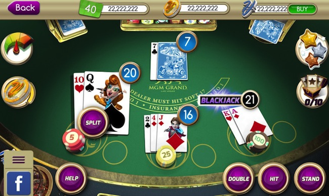MyVegas Blackjack Game