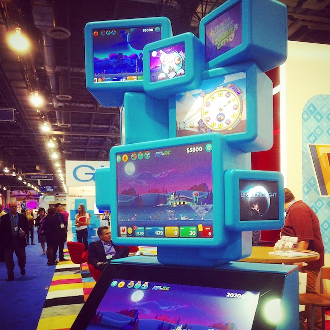 7 Screen Slot Machine From Gamblit Gaming At G2E