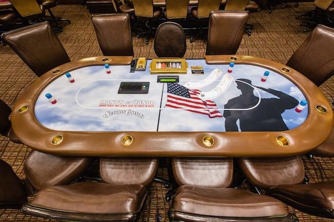 Medal of Honor Poker Table at Station Casinos Las Vegas