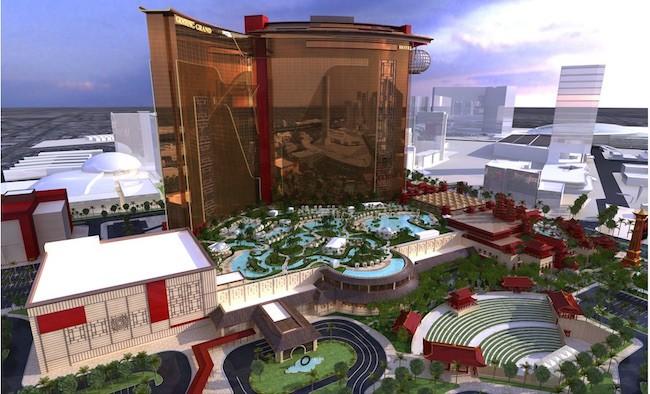 Current Resorts World Las Vegas Rendering
